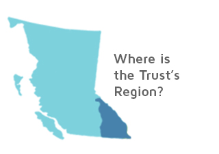 Where is the Trust region?