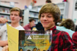 Students participate in Junior Achievement at Mt. Baker Secondary School, in Cranbrook.