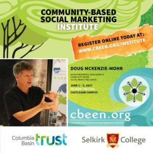 Community-Based Social Marketing Institute @ Selkirk College Castlegar Campus