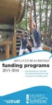 Arts, Culture and Heritage Funding Programs Brochure