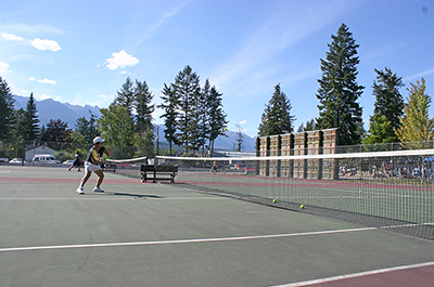 The Town of Golden will be upgrading three tennis court playing surfaces with support from the Trust's Recreation Infrastructure Grants.