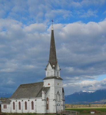 The St. Eugene Church restoration is one of the projects being supported.