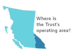 Where is the Trust operating area?